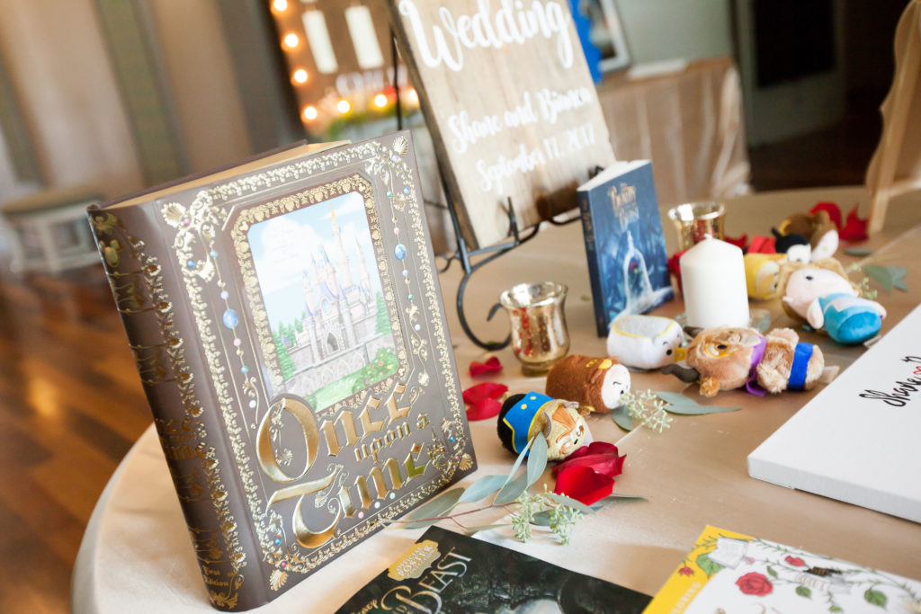 disney beauty and the beast wedding